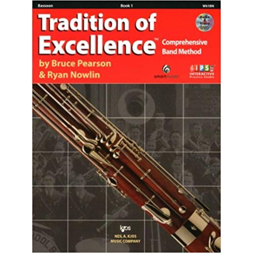 Kjos Tradition Of Excellence Bk 1, Bassoon