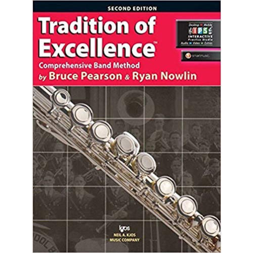 Kjos Tradition Of Excellence Bk 1, Flute