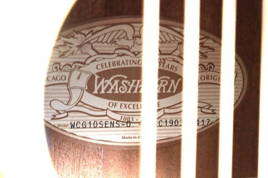 Washburn Washburn Comfort Standard Grand Auditorium in Natural Satin
