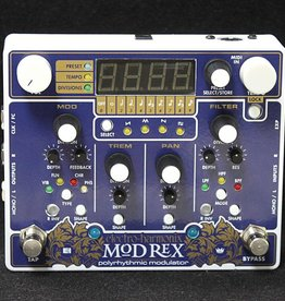 Electro-Harmonix Electro-Harmonix Mod Rex - Polyrhythmic Modulator, 9.6DC-200 PSU included