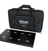 """Outlaw Effects Outlaw Effects Nomad Rechargeable Battery-Powered Pedal Board - 19 1⁄4"""" × 11"""""""