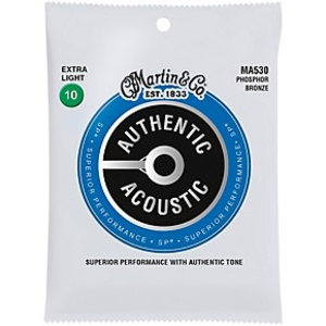 Martin Martin Authentic Acoustic SP Extra Light, 10-47
