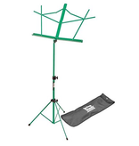 On-Stage On Stage Sheet Music Stand w/ Carrying Bag — Green