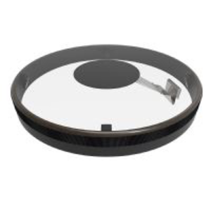 Remo Remo - Rhythm Lid 13x2 Snare Kit Controlled Sound Clear Black