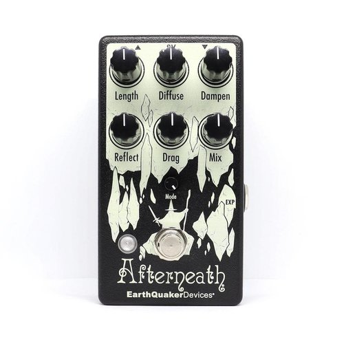 EarthQuaker Devices EarthQuaker Devices Afterneath V3 Enhanced Otherworldly Reverberation Machine