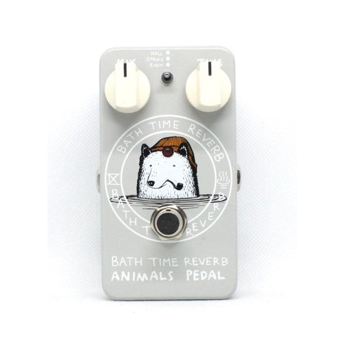 Animals Pedals Animals Pedals Bath Time Reverb Pedal