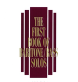 Hal Leonard Hal Leonard: The First Book of Baritone/Bass Solos