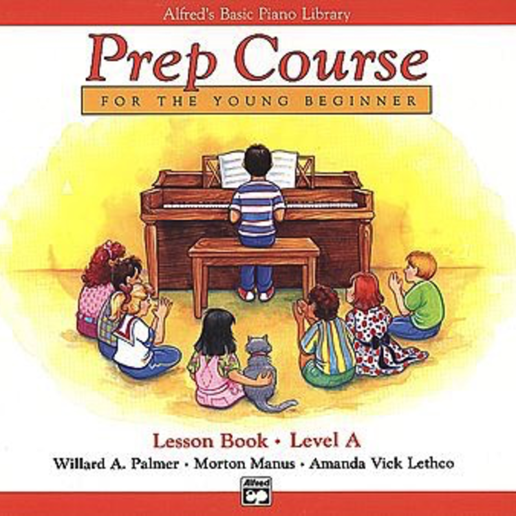 Alfred Music Alfred's Basic Piano Prep Course - Lesson Book: Level A