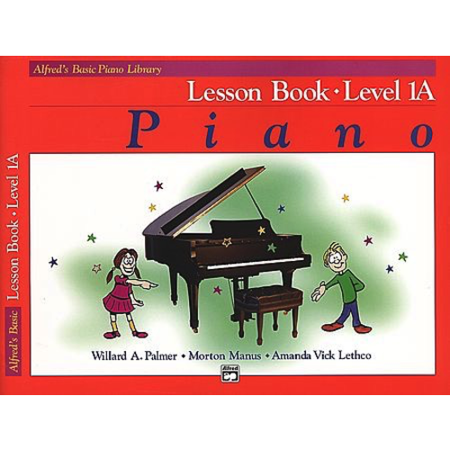 Alfred Music Alfred's Basic Piano Course - Lesson Book: Level 1A