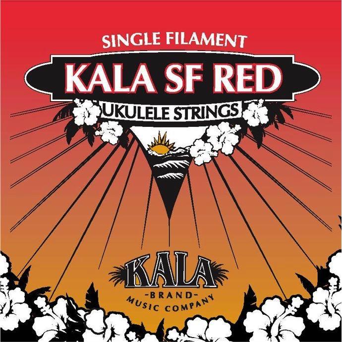Kala Kala SF Red Tenor Ukulele Strings w/ Low G