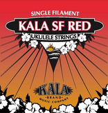 Kala Kala SF Red Concert Ukulele Single Filament Strings