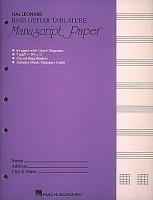 Hal Leonard Hal Leonard Bass Manuscript Paper