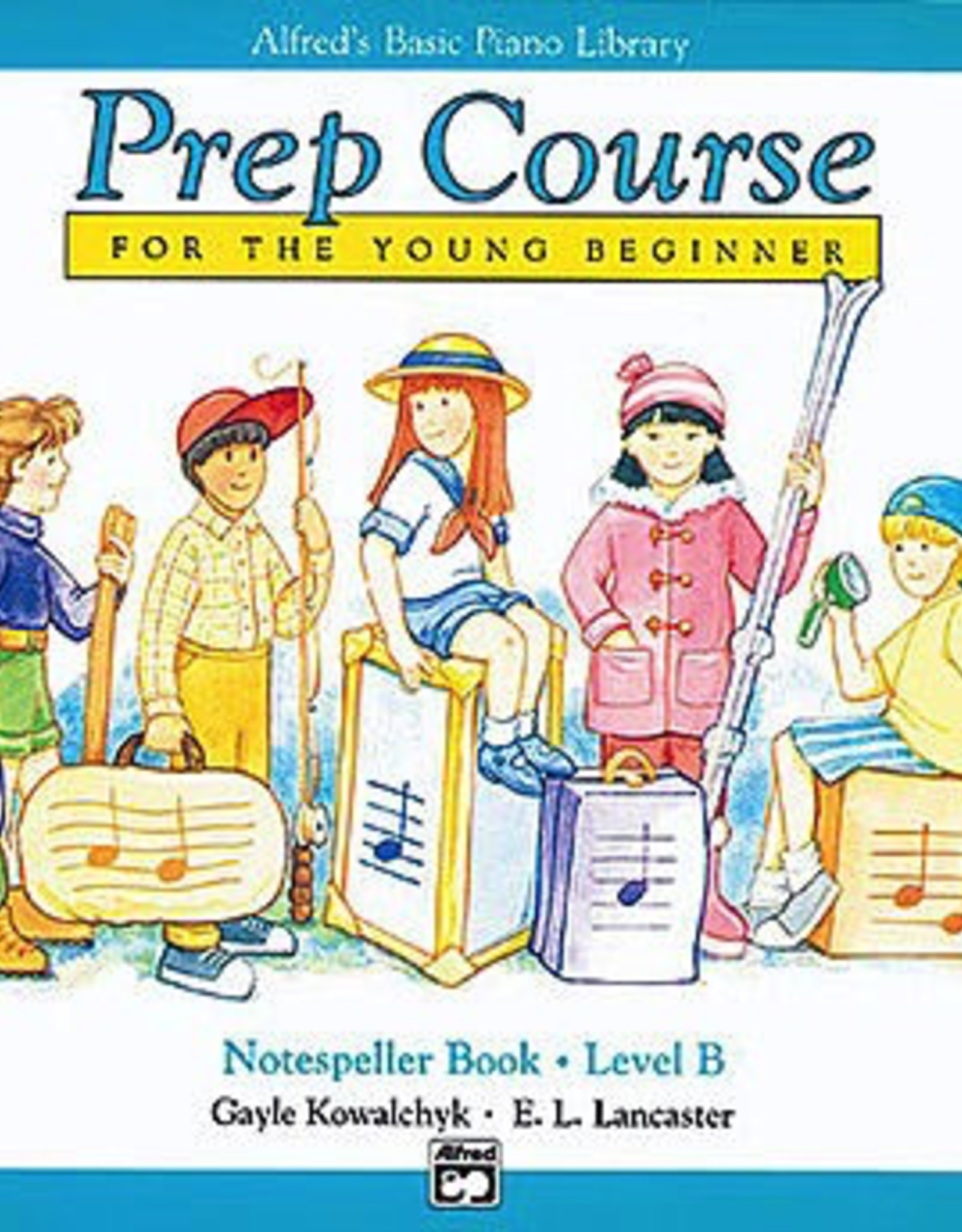 Alfred Publishing Alfred's Basic Piano Prep Course: Notespeller Book B