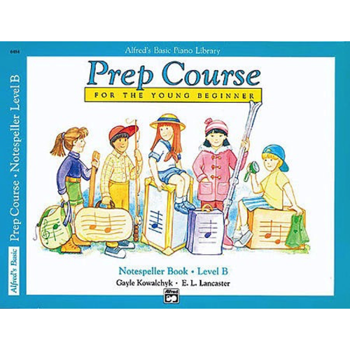 Alfred Music Alfred's Basic Piano Prep Course: Notespeller Book B