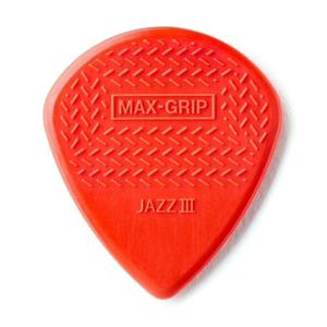 Dunlop Dunlop Max Grip Jazz III Nylon Guitar Picks — 6-Pack