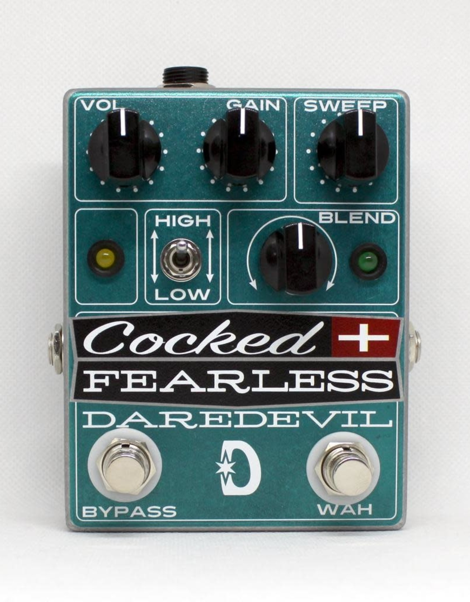 Daredevil Pedals Daredevil Cocked & Fearless 2 in 1 Distortion w/Fixed Wah