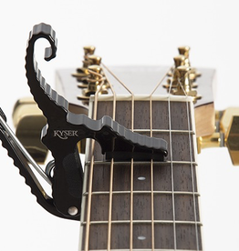 Kyser Kyser Shortcut Capo, Black, Guitar
