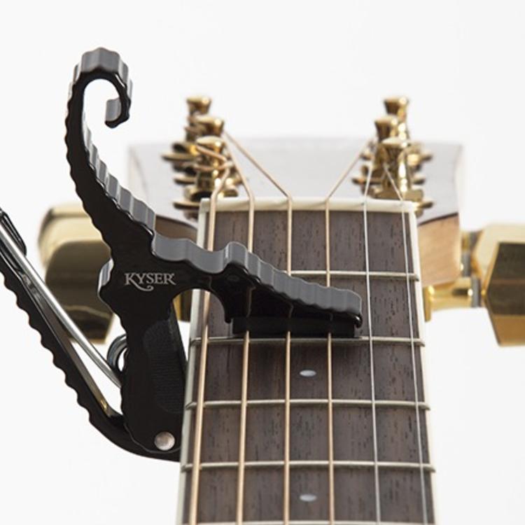 Kyser Kyser Shortcut Capo, Black, Guitar