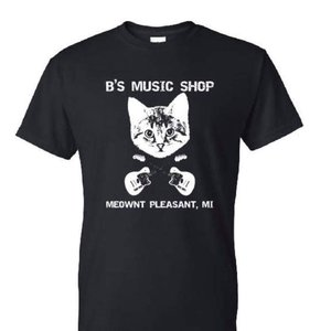 B's Music Shop B's Music Shop Danger Cat T-Shirt