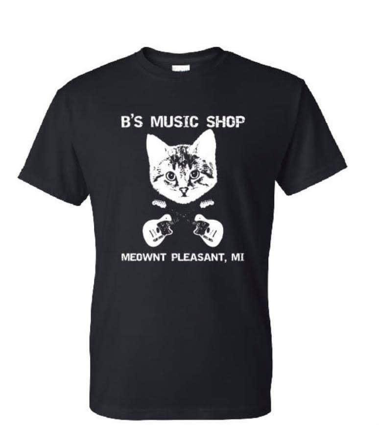 B's Music Shop B's Music Shop Danger Cat T-Shirt