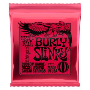 Ernie Ball Ernie Ball Burly Slinky Nickelwound Electric Guitar Strings 11 - 52 Gauge