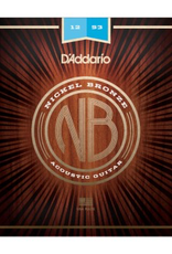 D'Addario D'Addario Nickel Bronze Acoustic Guitar Strings, Light, 12-53