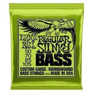 Ernie Ball Ernie Ball Regular Slinky Nickel Wound Electric Bass Strings - 50-105 Gauge