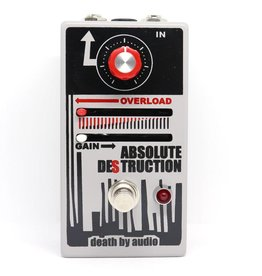 Death By Audio Death By Audio Absolute Destruction