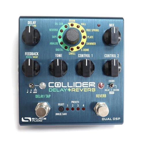 Source Audio Source Audio Collider Delay+Reverb