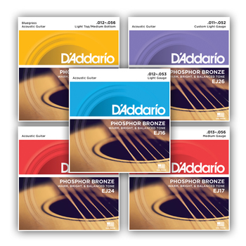 D'Addario D'Addario Acoustic 6-String Set