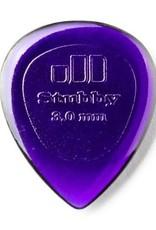 Dunlop Dunlop Stubby 3.0mm Pick - 6 Pack