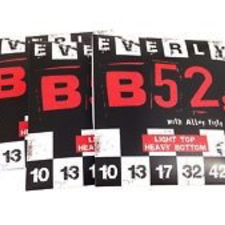 Everly B52s Electric Guitar Strings