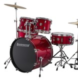 Ludwig Ludwig Accent Drive 5 Piece Drum Set — Red Foil