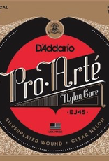 D'Addario D'Addario EJ45 Pro-Arte Classical Guitar Strings Normal Tension
