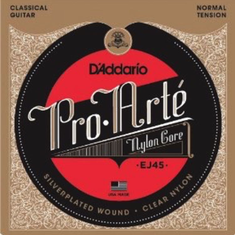 D'Addario D'Addario EJ45 Pro-Arte Classical Guitar Strings Normal Tension