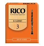 Rico Rico Clarinet 10pk #1.5 Reeds
