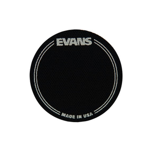 Evans Evans EQ Single Pedal Bass Drum Patch, Black Nylon
