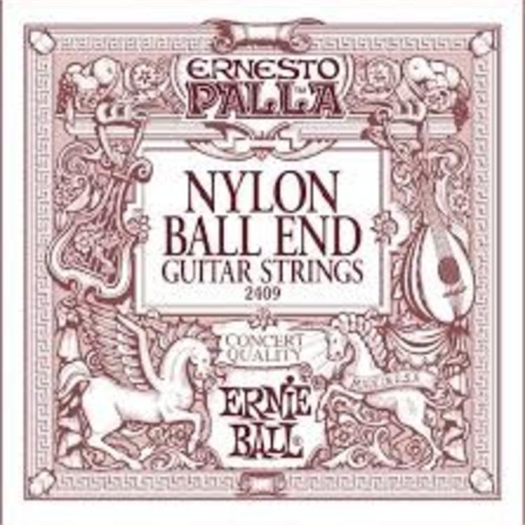 Ernie Ball Ernie Ball Ernesto Palla Black & Gold Ball-End Nylon Classical Guitar Strings