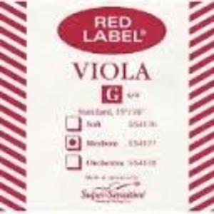 Super Sensitive Red Label Viola G Single String MD