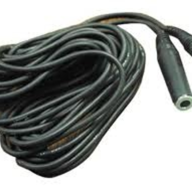 Hosa Hosa Headphone Extension Cable, 1/4in TRS to 1/4in TRS, 25ft