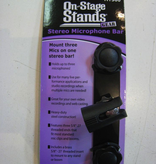 On-Stage On Stage Stereo Microphone Attachment Bar