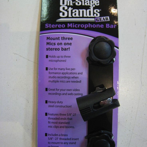 On-Stage On-Stage MY500 Stereo Mic Bar