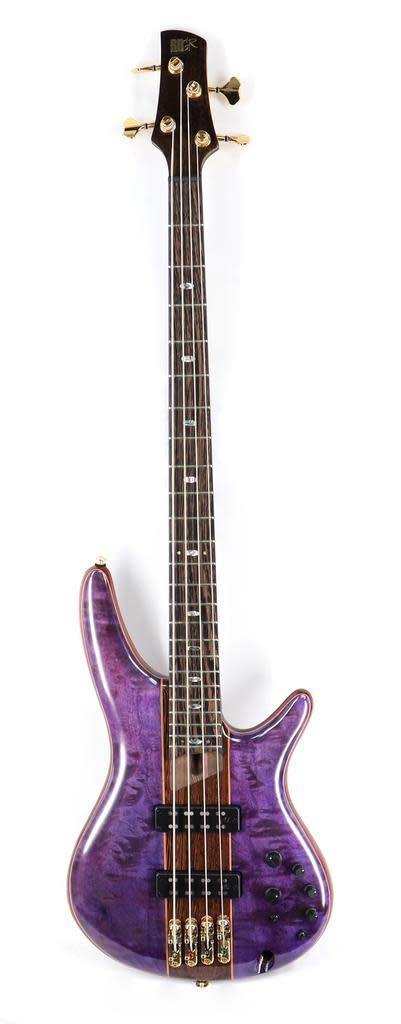 Ibanez Ibanez SR2400APL SR Premium 4str Electric Bass - Amethyst Purple Low Gloss w/Gig Bag