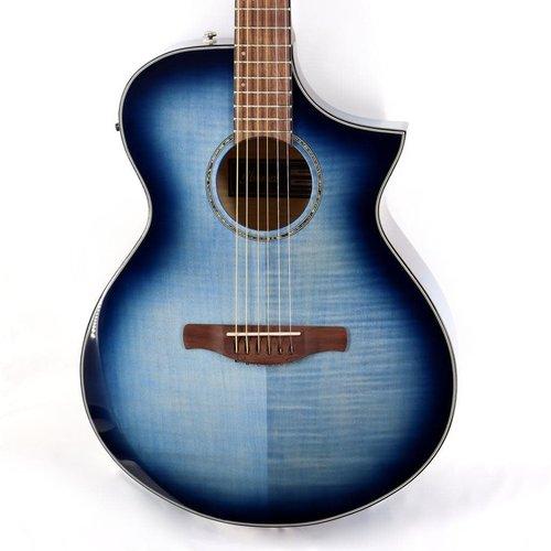 Ibanez Ibanez AEWC400IBB Acoustic Guitar in Indigo Blue Burst High Gloss