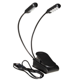 On-Stage On Stage Dual Rechargable USB Clip Light