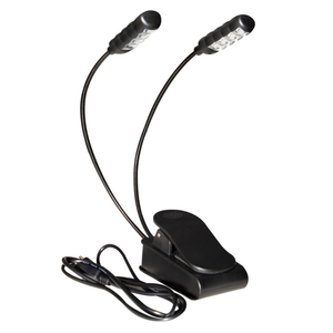 On-Stage On-Stage Dual USB-Rechargable Clip Light