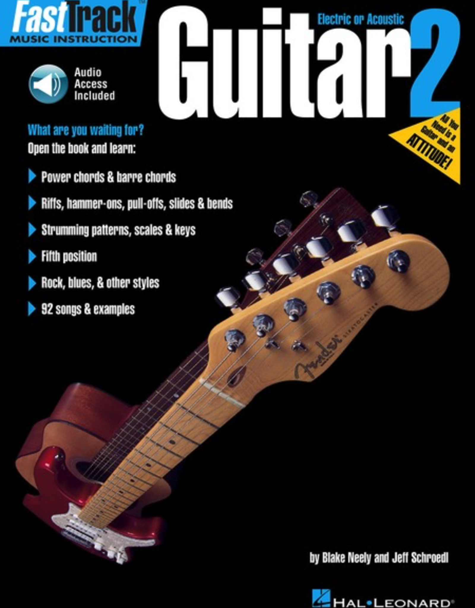 Hal Leonard FastTrack Guitar Method - Book 2