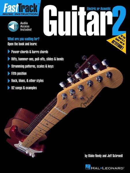 Hal Leonard FastTrack Guitar Method - Book 2