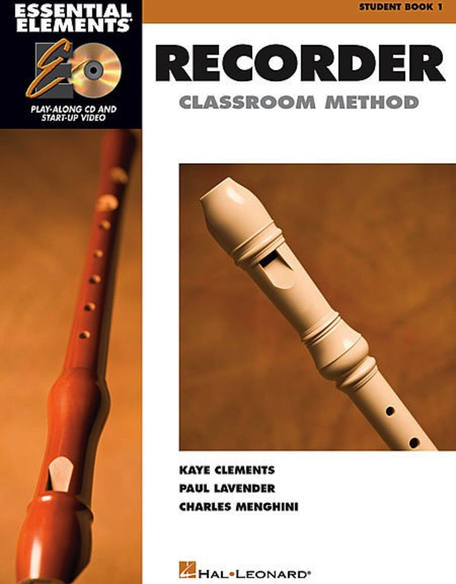 Hal Leonard Hal Leonard Essential Elements Recorder Classroom Method - Student Book 1