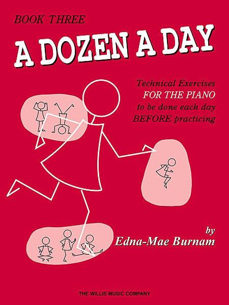 Hal Leonard Hal Leonard A Dozen A Day - Piano Book Three